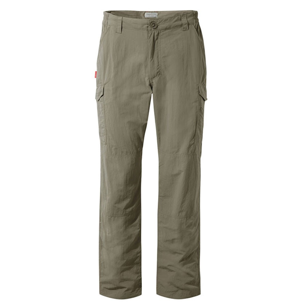 Craghoppers Nosilife Cargo Trousers - Pebble