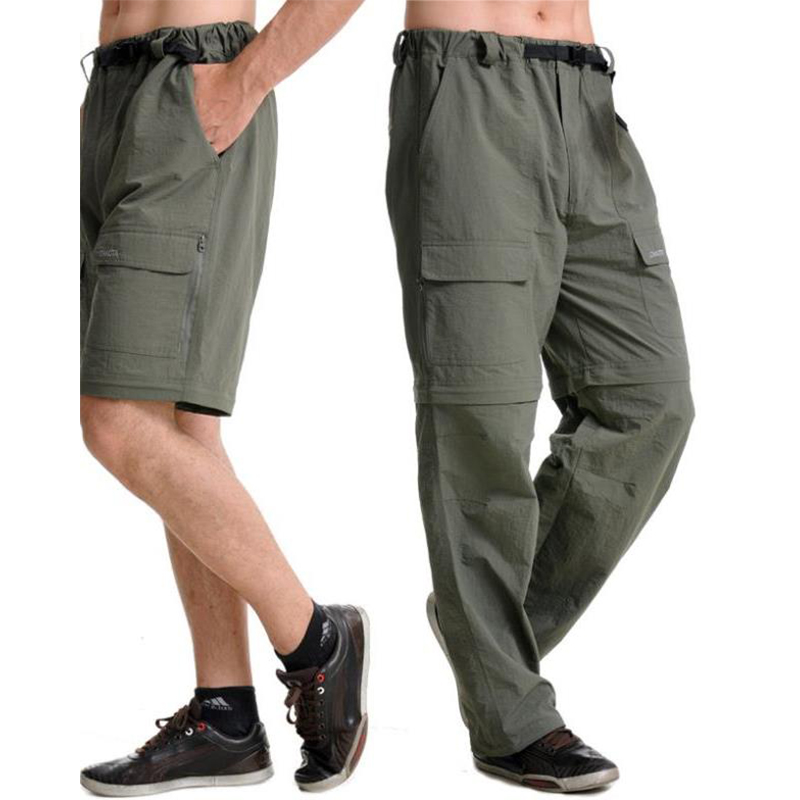 Griffin Convertible Pants Grey