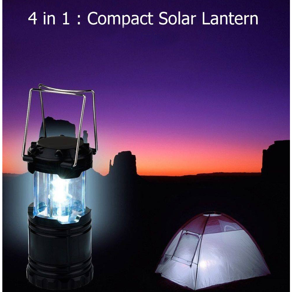 MSA 4 In 1 Foldable Camping Lantern