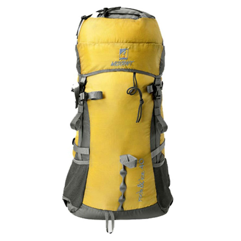 Wildcraft Rock & Ice 40 ltr Yellow